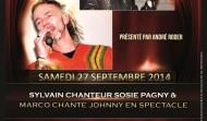 Sylvain sosie Pagny et Marco sosie Johnny