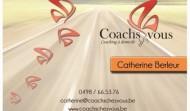 Carte de visite Coachs chez vous