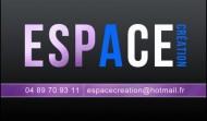 """Carte de visite """"Espace Création"""""""