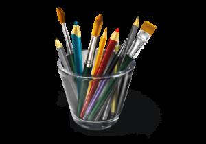 pot crayon