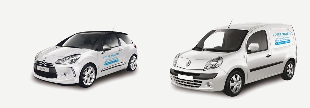 lettrages véhicules formules Lettrage basiq LCConcept Création