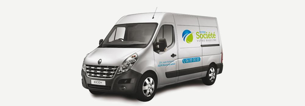 lettrage Eco vehicules formules gros utilitaire eco