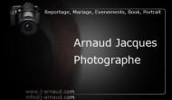 Carte de visite Arnaud Jacques