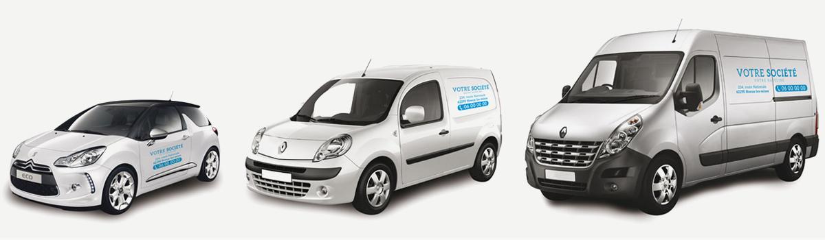 presentation page tarif lettrages vehicules