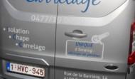 Lettrage camionnette LM Carrelage
